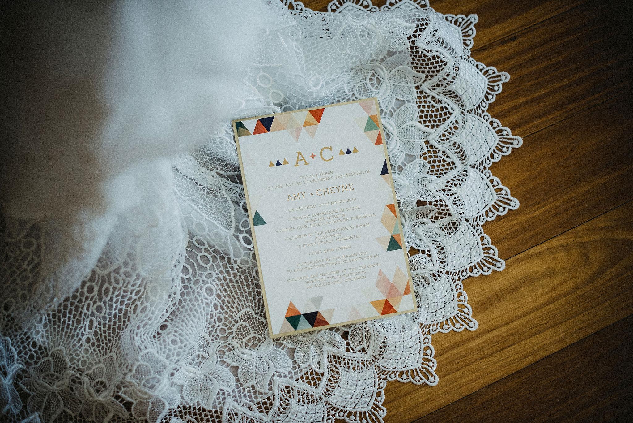 Perth Wedding Invitations