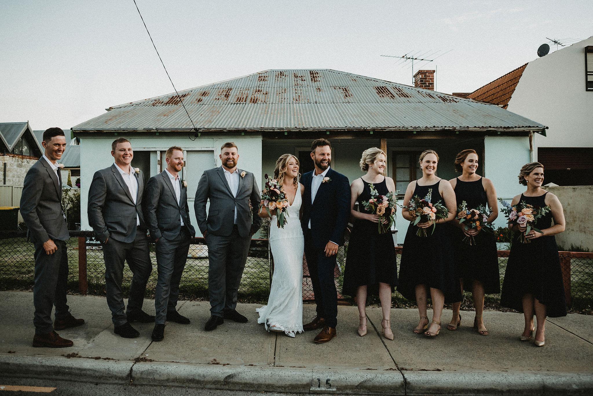 Perth Wedding Bridal Party