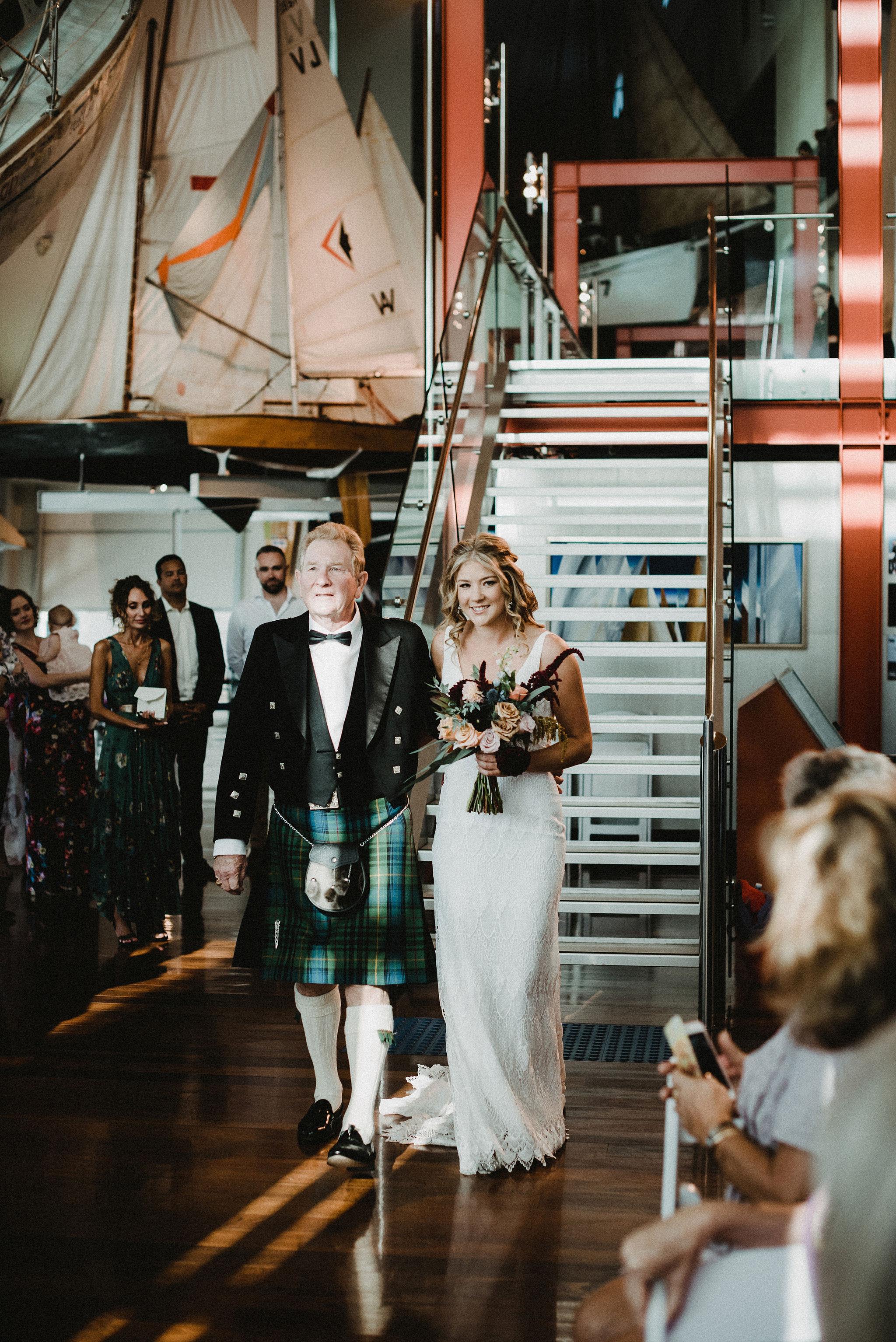 Perth Wedding Bridal Entrance