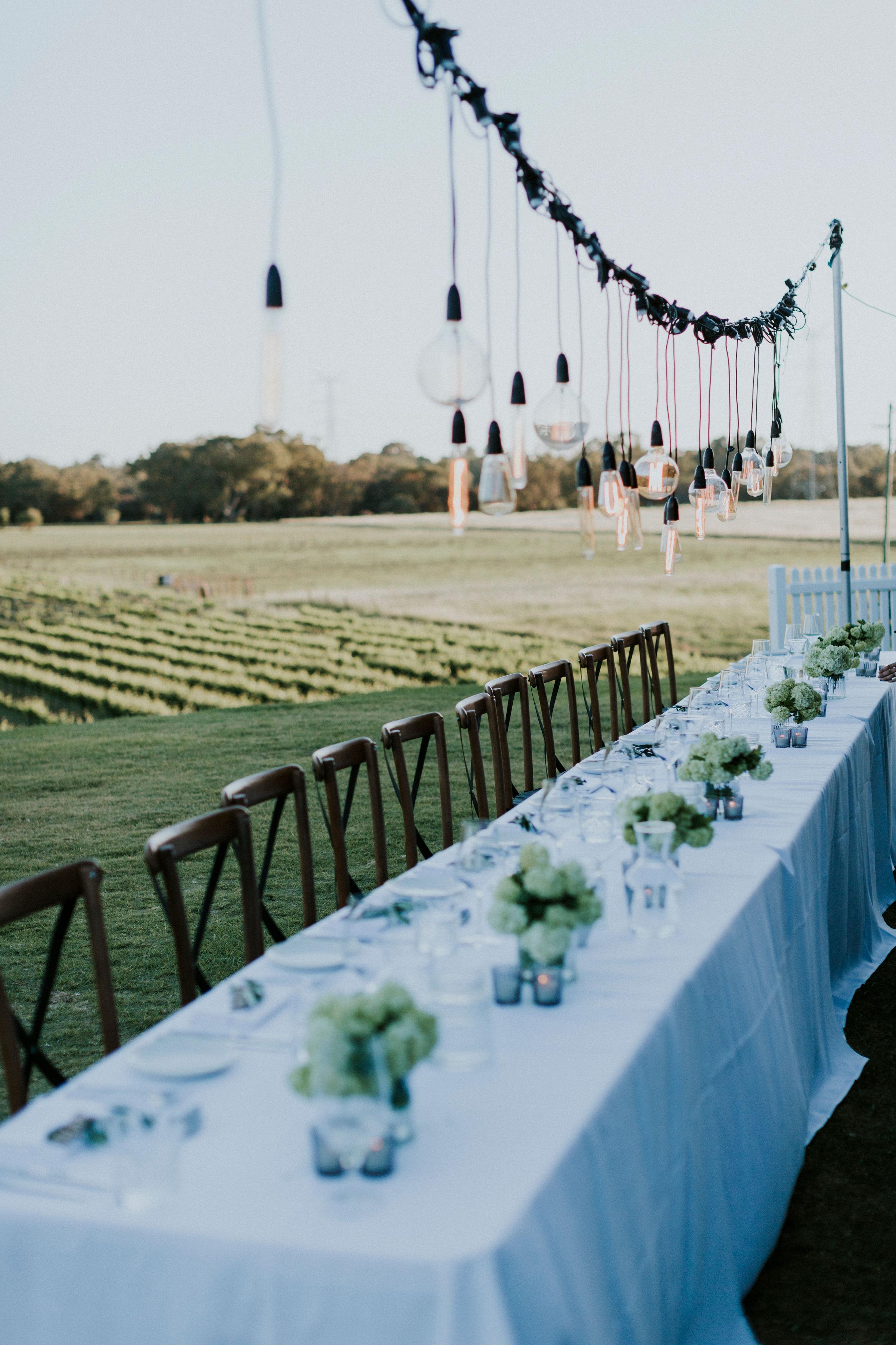 Perth Wedding Bridal Table