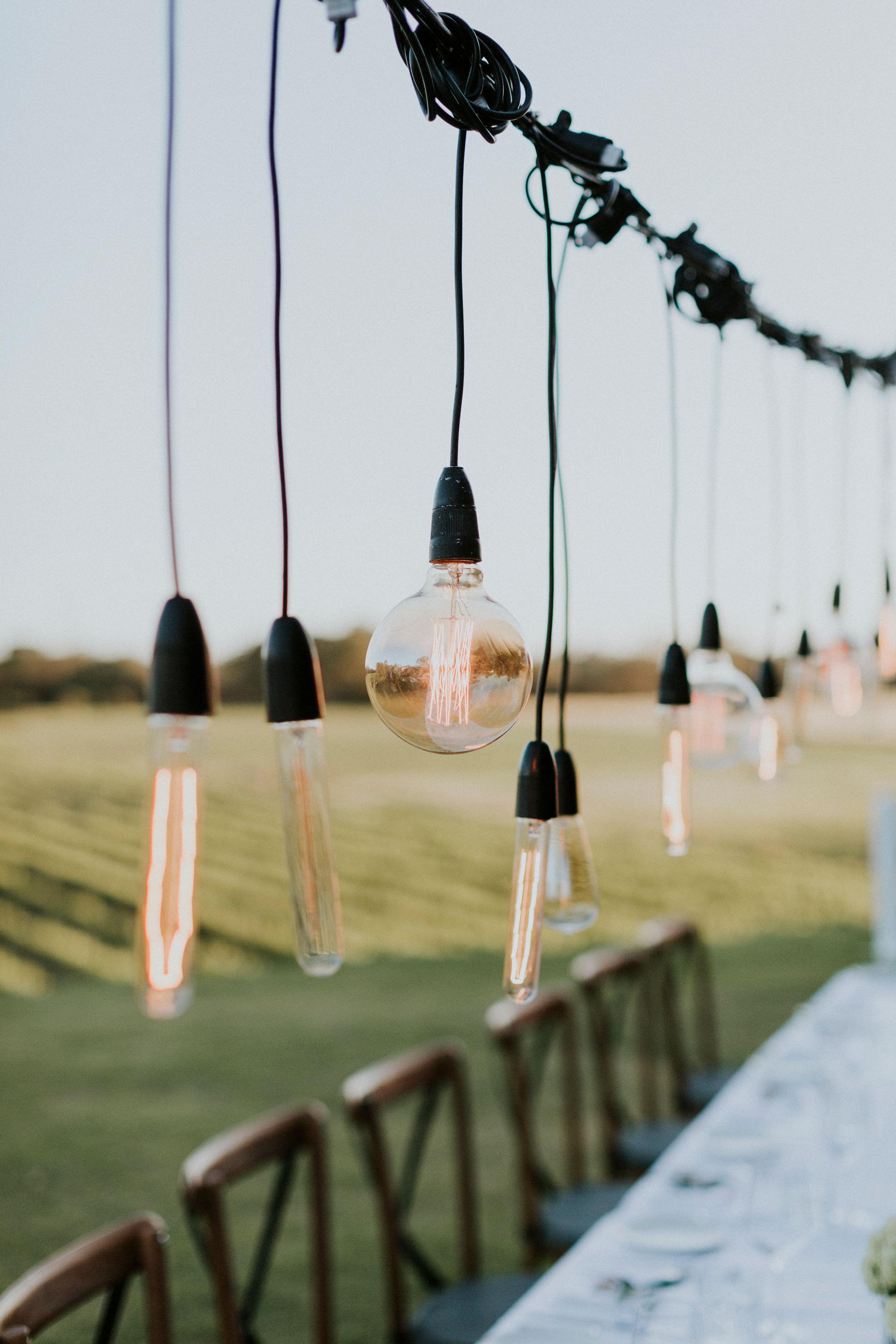Perth Wedding lighting