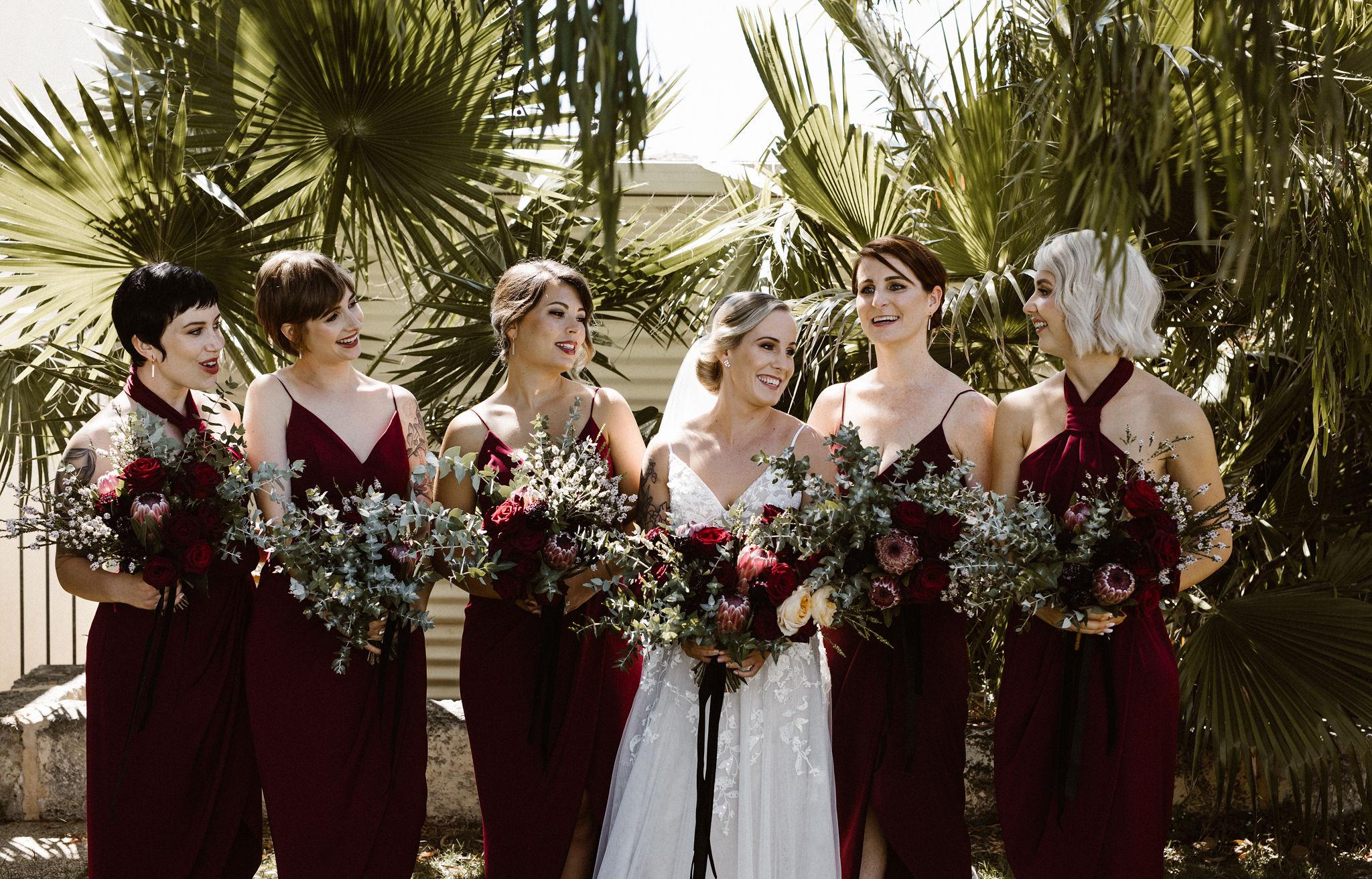Perth Wedding Bride & Bridesmaids