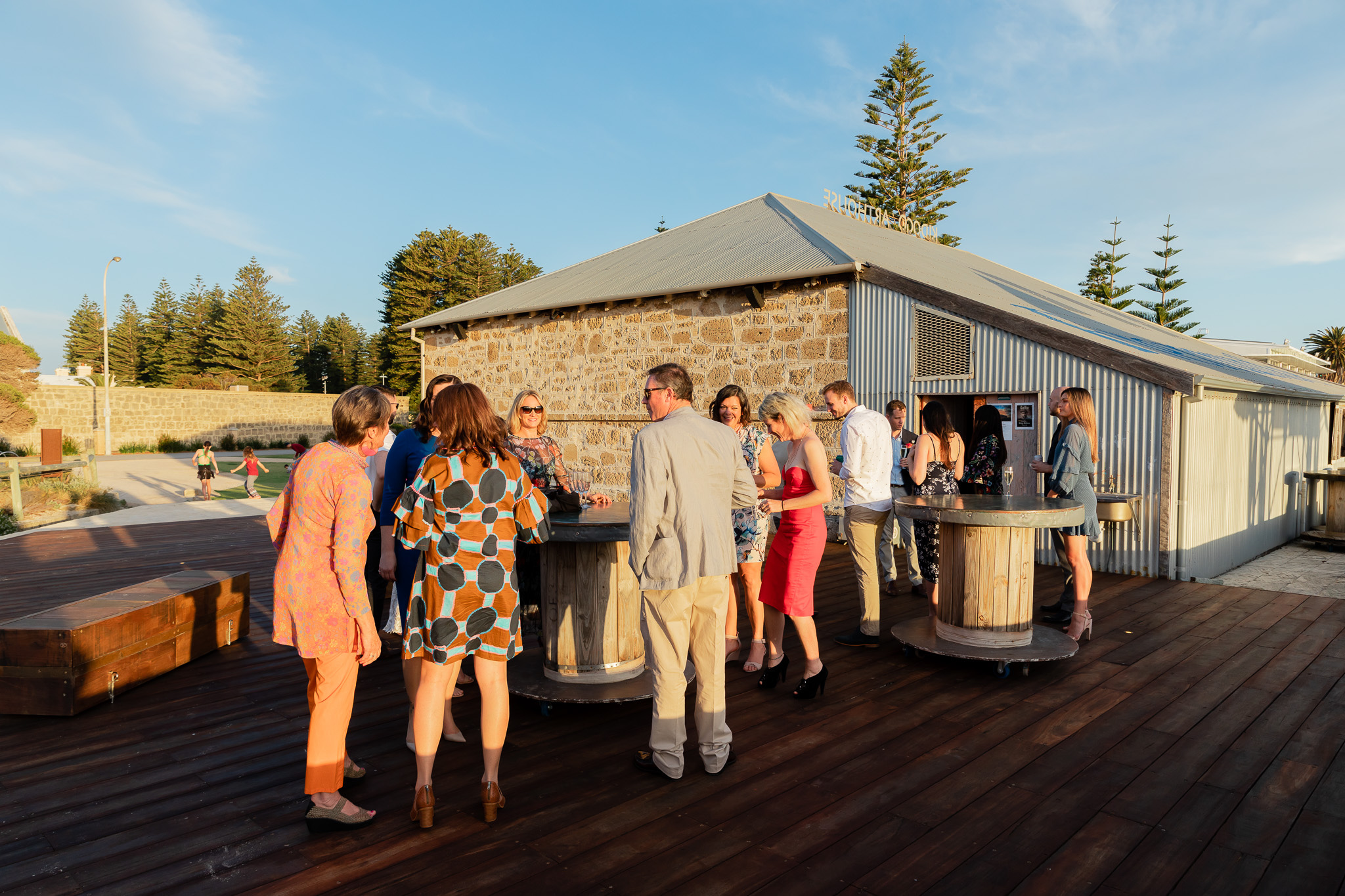 Perth Wedding Sunset Drinks