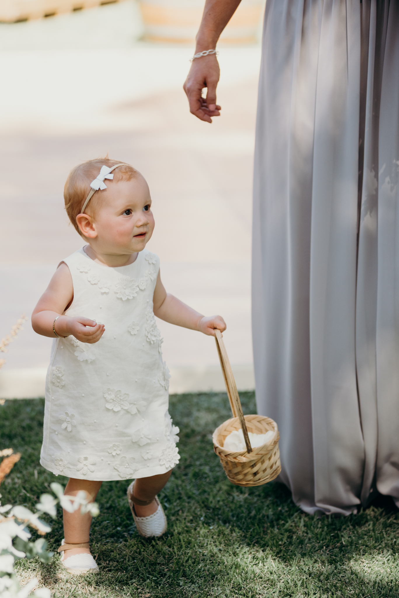 Perth Wedding Flower Girl