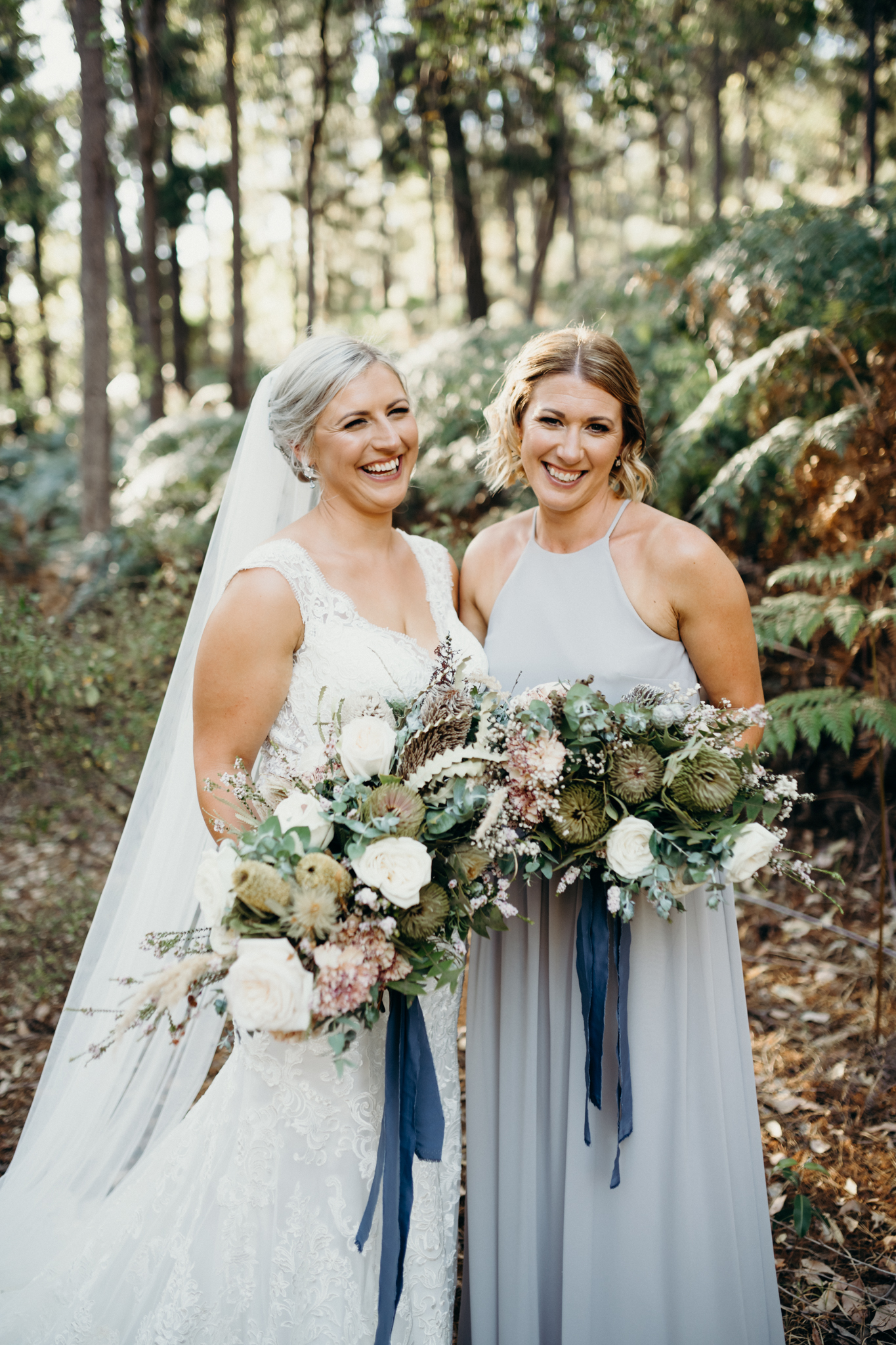 Perth Wedding Bride & Bridesmaid