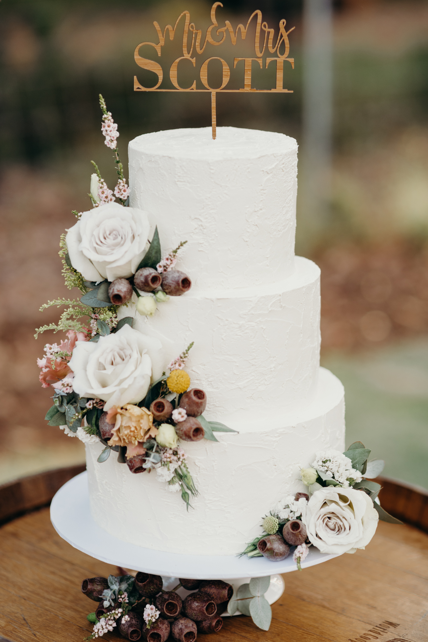 Perth Wedding Cake