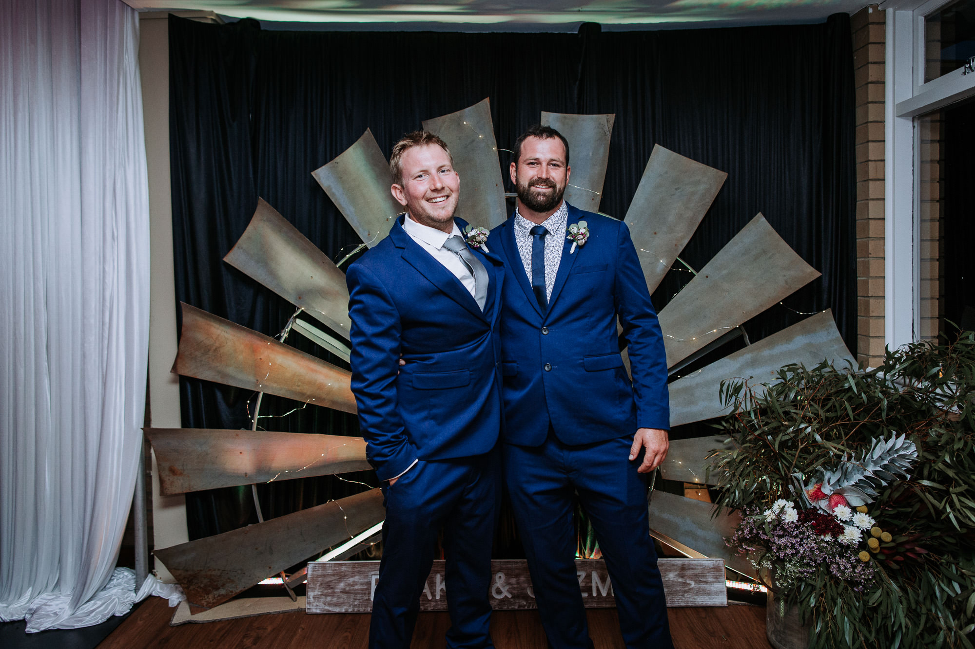 Perth Wedding Groom & Groomsman