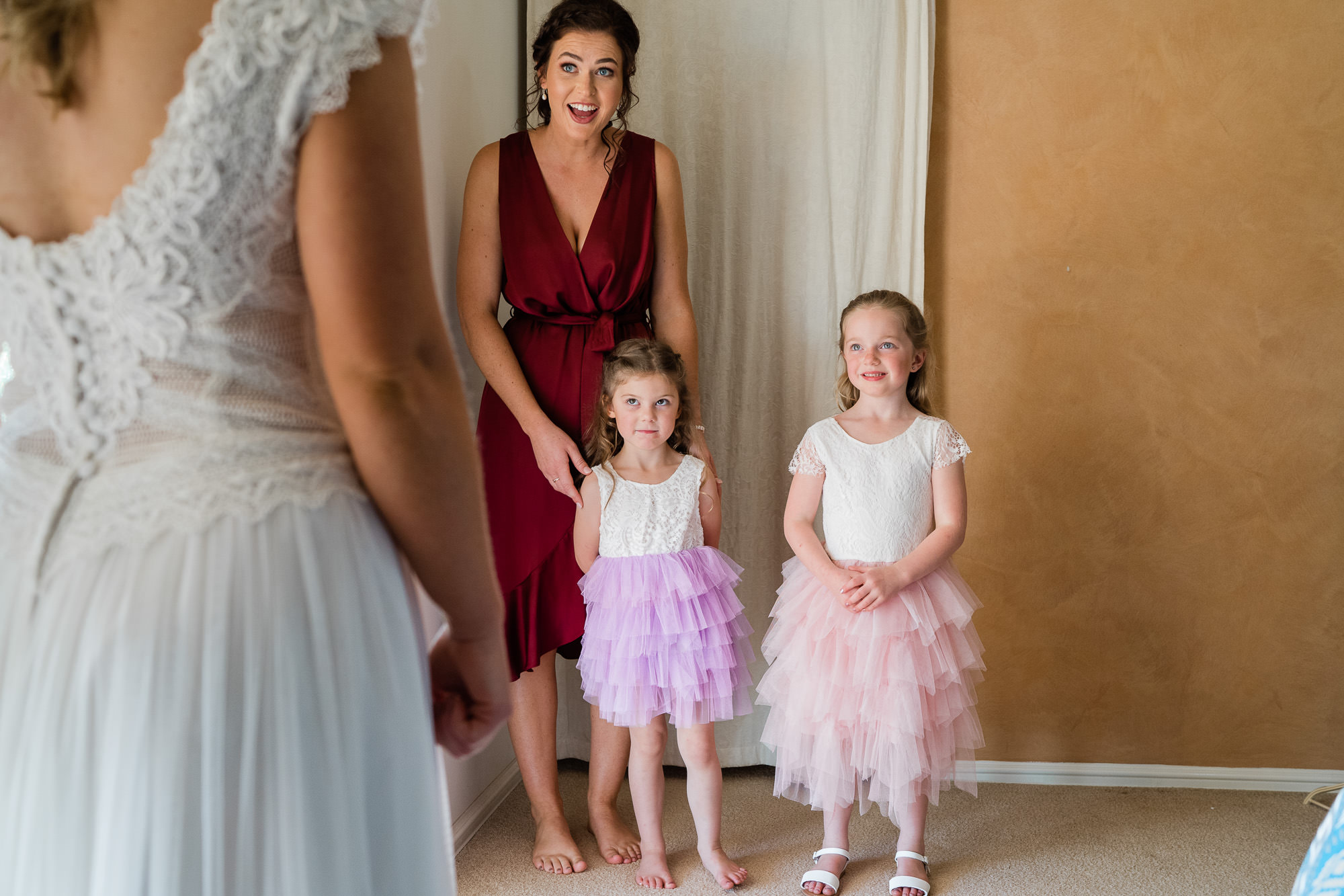 Perth Wedding Bridesmaid & Flower Girls
